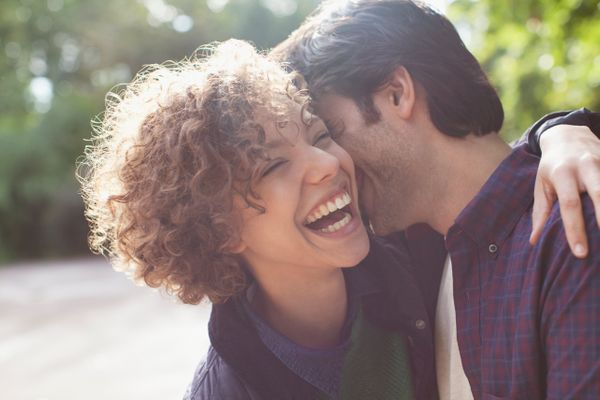 """There's a reason a kiss is called a """"wet one"""" -- smooching stimulates saliva production, which can actually <a href=""""http://w"""