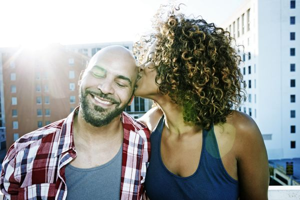That post-kiss feeling of relaxation isn't all in your head. A small 2009 study measured levels of the bonding hormone oxytoc