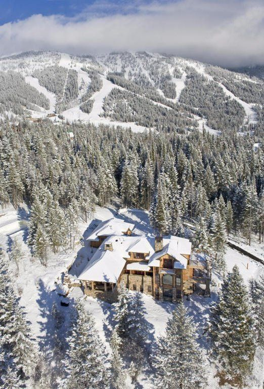 1 A 5700 Square Foot Wintery Dream In Whitefish Montana Listed For 245 Million