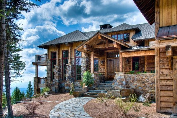 5 Mountain Mansions Almost As Epic As Their Surroundings