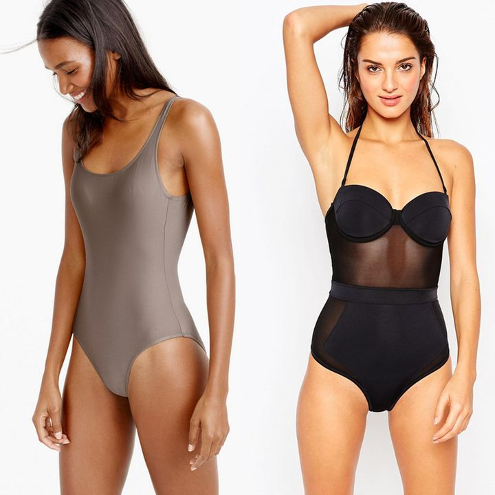 The Most Flattering One Piece Bathing Suits For Every Body
