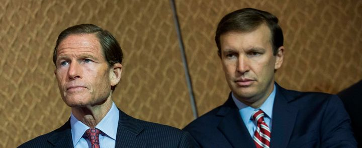 Sen. Richard Blumenthal (D-Conn.) and Sen. Chris Murphy (D-Conn.) are two of four senators who signed a letter to the chairs