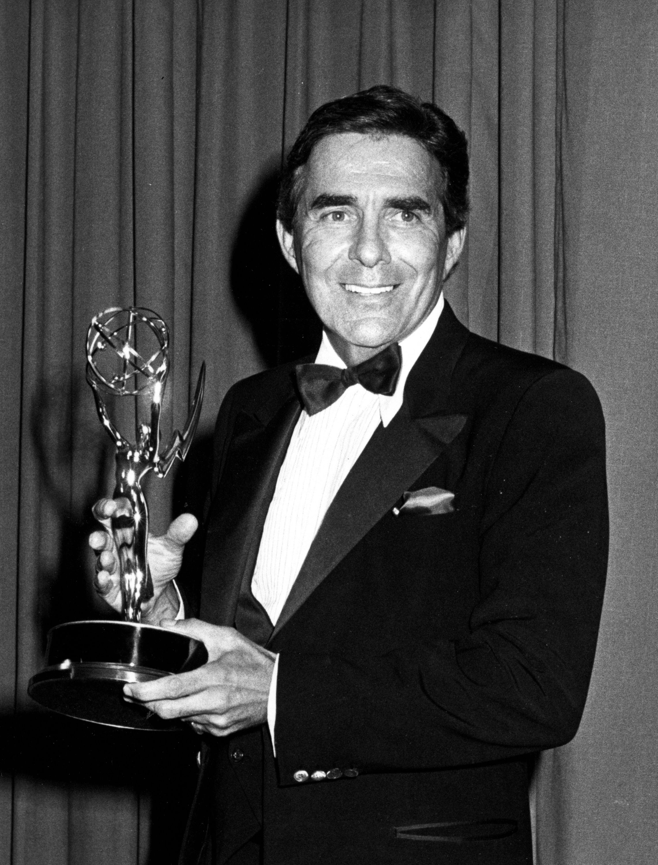 Actor Pat Harrington attends 36th Annual Primetime Emmy Awards on September 23, 1984 at the Pasadena Civic Auditorium in Pasadena, California. (Photo by Ron Galella, Ltd./WireImage)