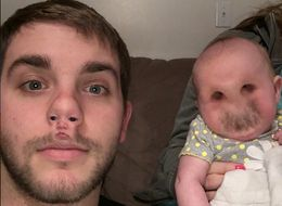 Look At This Adorable Face Swap!