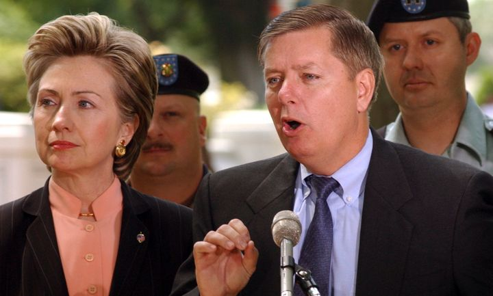 Lindsey Graham knows a little something about Hillary Clinton's abilities. Back in 2003, the two Senate colleaguesappea