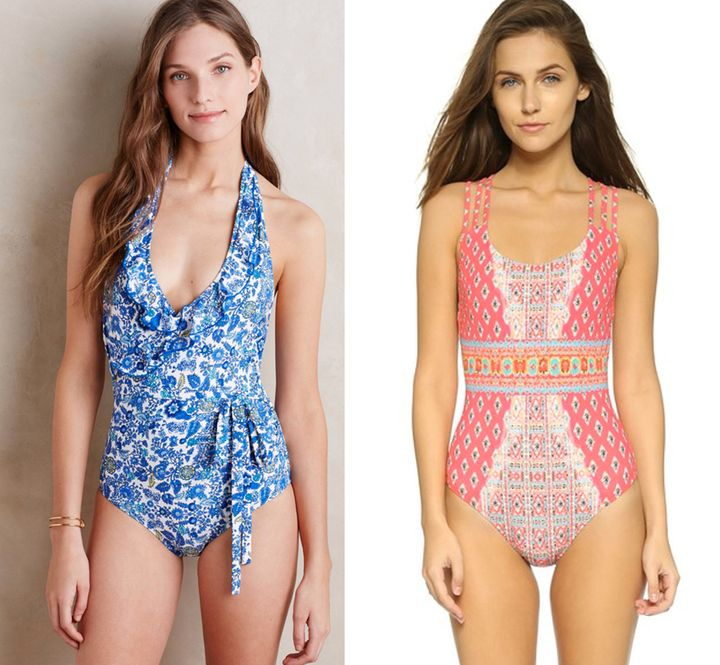 1256a724259 The Most Flattering One-Piece Bathing Suits For Every Body ...