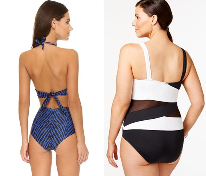 7a26aef9d6 The Most Flattering One-Piece Bathing Suits For Every Body ...