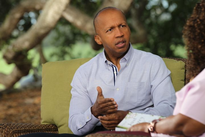 Bryan Stevenson was disturbed when he saw an inmate handled roughly by guards, but the inmate's response was different: He sa