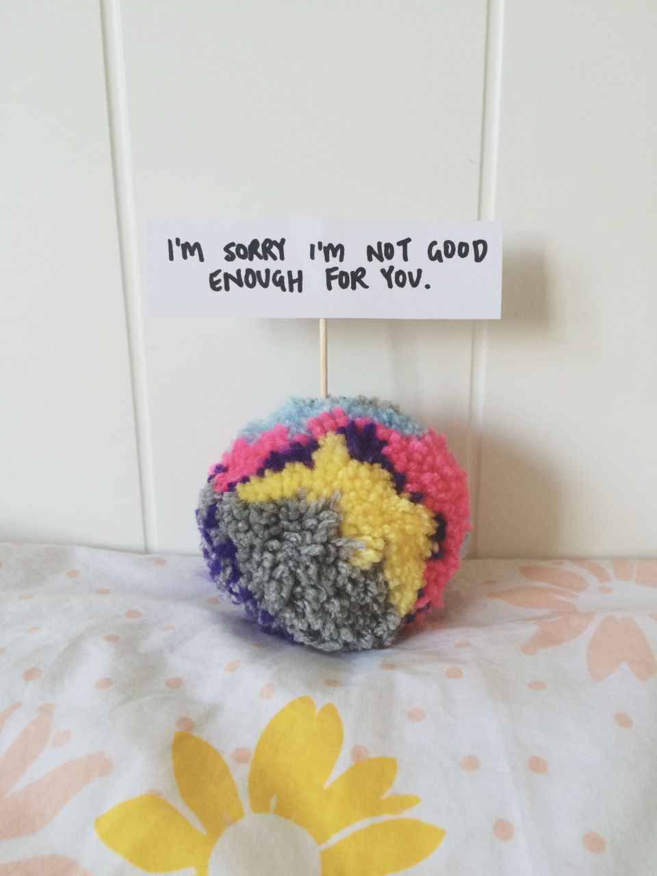 Artist Makes Apologizing Cool Again With Fluffy