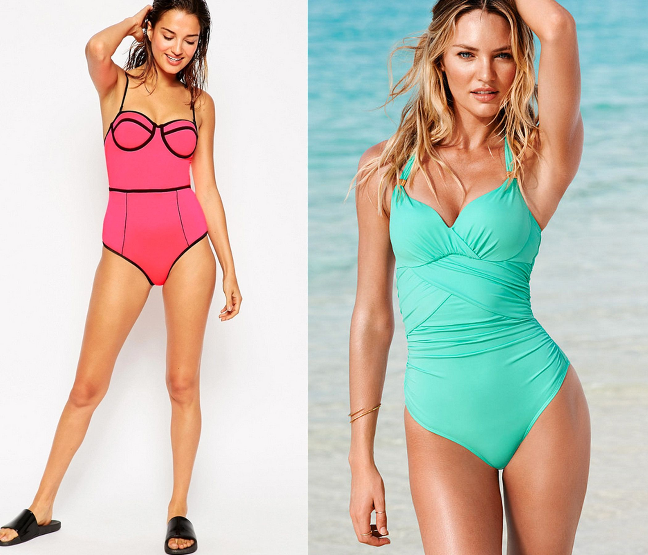 The Most Flattering One Piece Bathing Suits For Every Body | HuffPost Life