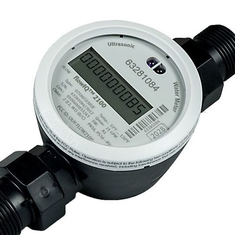 AQUEES installs small meters like this one at individual apartment or office units to measure tenants' water usage.