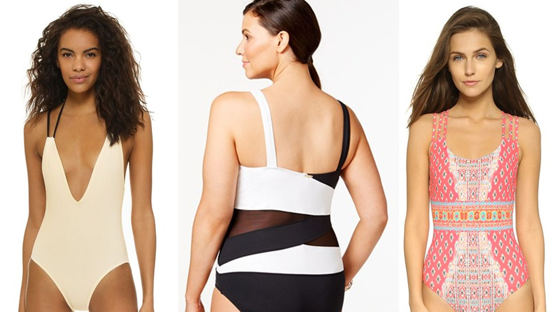 6bcdeddce84 The Most Flattering One-Piece Bathing Suits For Every Body ...