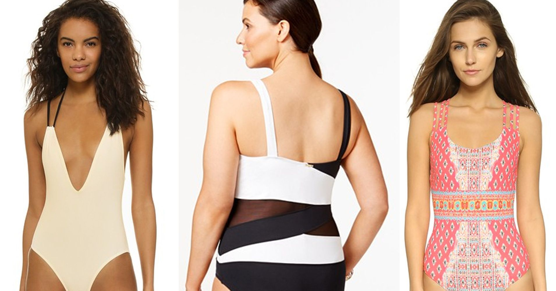 14184fade0 The Most Flattering One-Piece Bathing Suits For Every Body | HuffPost Life