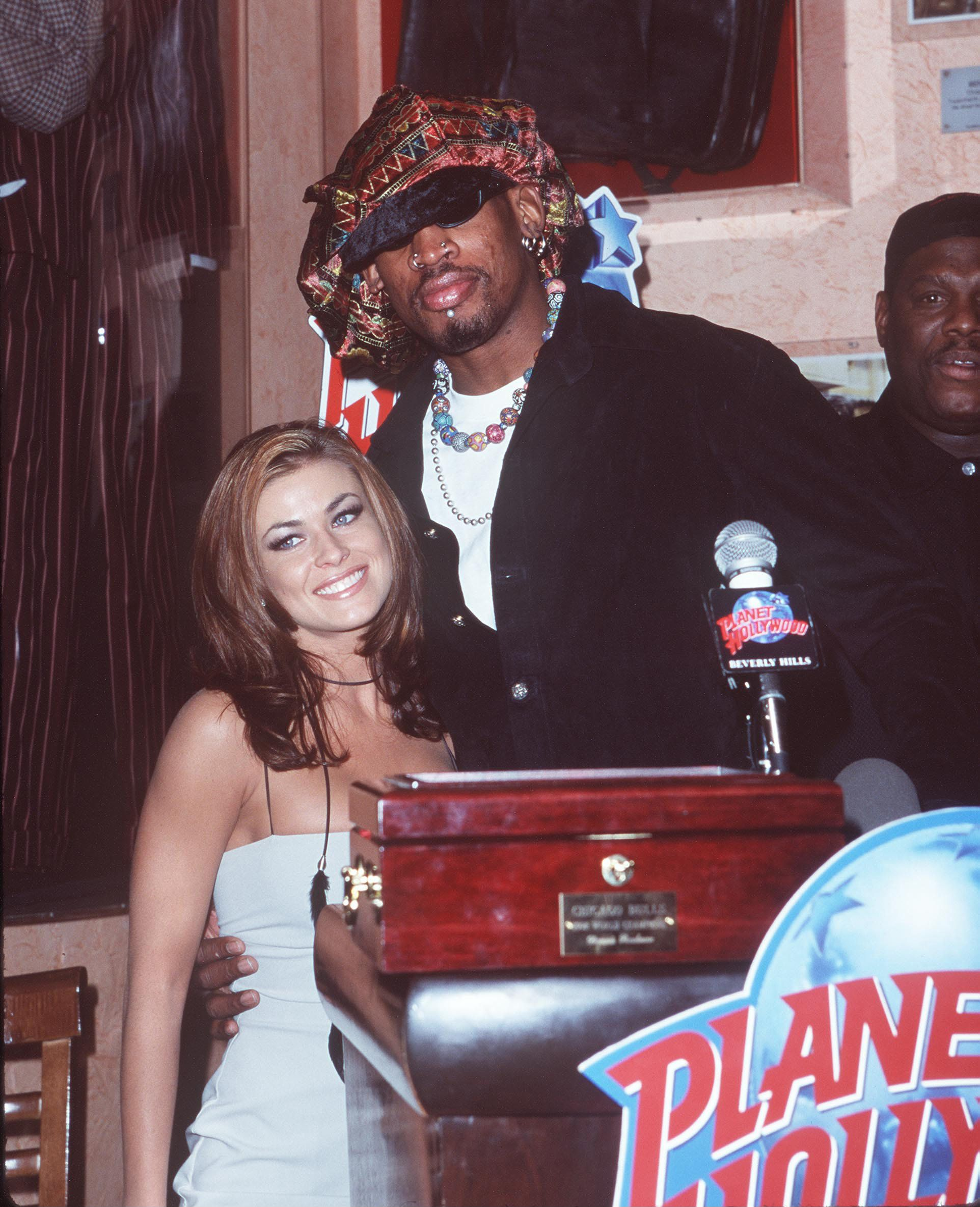 Dennis Rodman & Carmen Electra (Photo by SGranitz/WireImage)