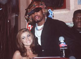 What Happened When Carmen Electra Ran Into Ex Dennis Rodman At A Party