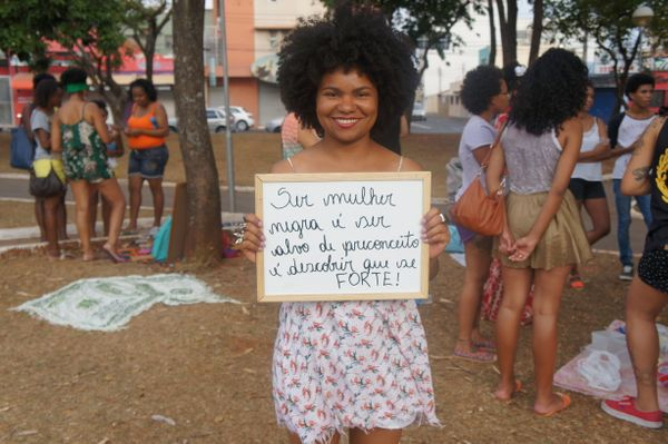 """""""Being a black woman is to be targeted with prejudice and to find out you are strong."""""""