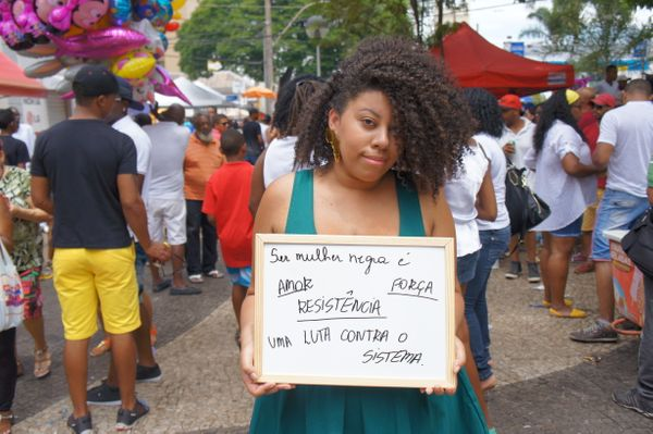 """""""Being a black woman is love, resistance, strength. A fight against the system."""""""