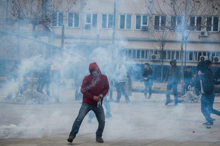 ManyKosovo Albanians believe the accord with Serbia represents a threat to Kosovo's hard-won sovereignty.