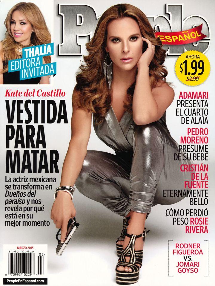 "Del Castillo, who played a drug kingpin in the Telemundo soap opera ""La Reina del Sur,""was named among Spanish People's"