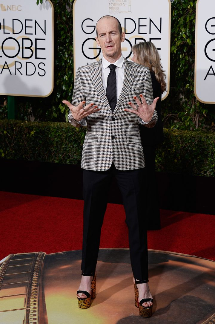 Denis O'Hare at the 73rd Annual Golden Globe Awards in Beverly Hills, California.