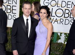 Matt Damon And His Wife Luciana Stun On The Golden Globes Red Carpet