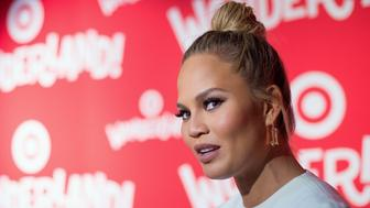 NEW YORK, NY - DECEMBER 07:  Model Chrissy Teigen attends the Target Wonderland VIP Event Kick Off at Target Wonderland on December 7, 2015 in New York City.  (Photo by Mike Pont/WireImage)