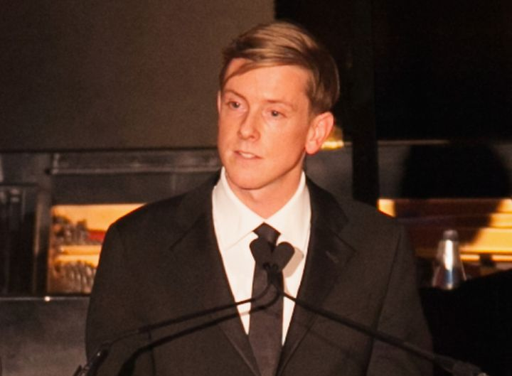 Chris Hughes, here celebrating The New Republic's centennial in 2014, looking for new owner as second centurygets under