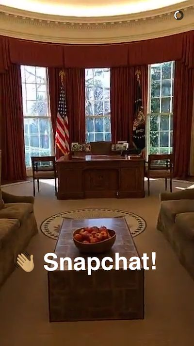 Welcome to Snapchat, POTUS!