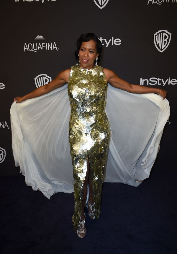Actress Regina King attends the 2016 InStyle And Warner Bros. 73rd Annual Golden Globe after party, in Beverly Hills, Califor