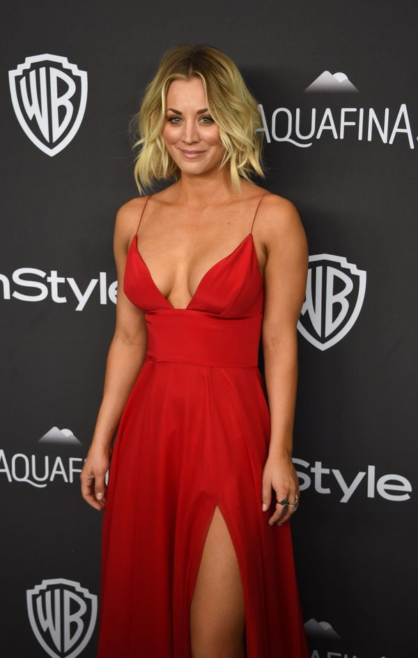 Actress Kaley Cuoco attends the 2016 InStyle And Warner Bros. 73rd Annual Golden Globe after party, in Beverly Hills, Califor