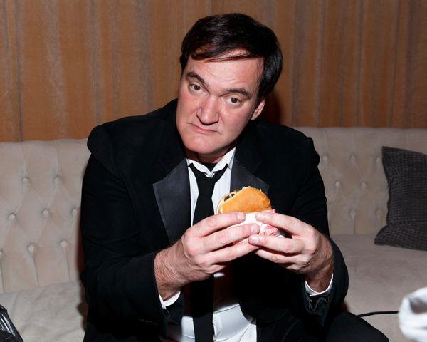 BEVERLY HILLS, CA - JANUARY 10:  Filmmaker Quentin Tarantino attends The Weinstein Company and Netflix Golden Globe Party, pr