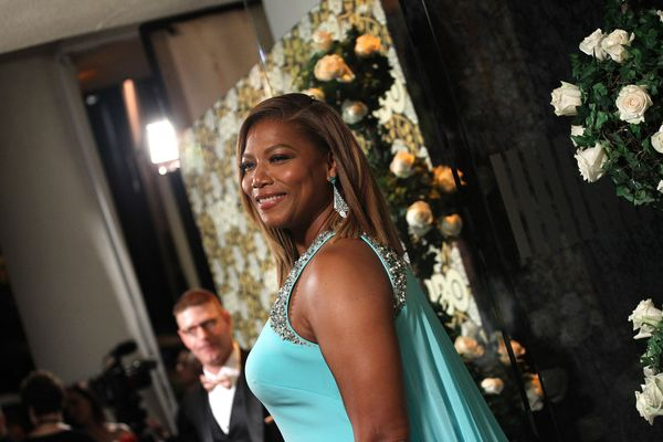 LOS ANGELES, CA - JANUARY 10:  Queen Latifah attends the HBO's Post 2016 Golden Globe Awards Party held at Circa 55 Restauran