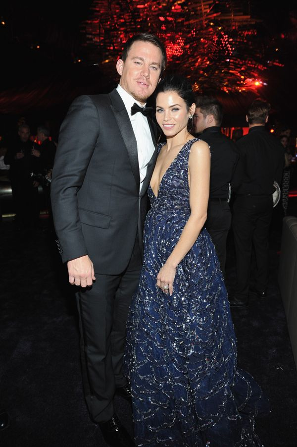 BEVERLY HILLS, CA - JANUARY 10:  Actors Channing Tatum and Jenna Dewan Tatum attend The 2016 InStyle and Warner Bros. 73rd an