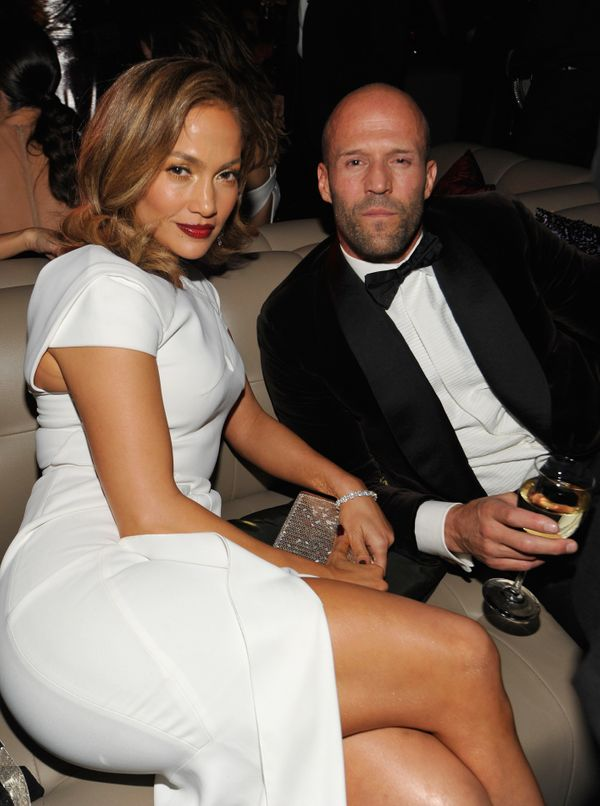 BEVERLY HILLS, CA - JANUARY 10:  Actress/singer Jennifer Lopez and actor Jason Statham attend The 2016 InStyle and Warner Bro