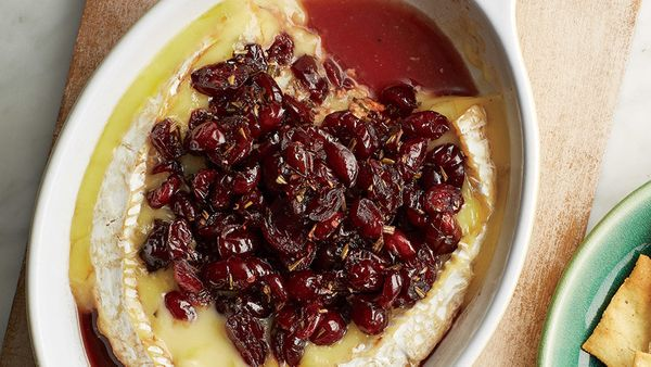 There are dozens of ways to make festive, fondue-like baked Brie, but O'Dea's version is one we hadn't tried before. She has