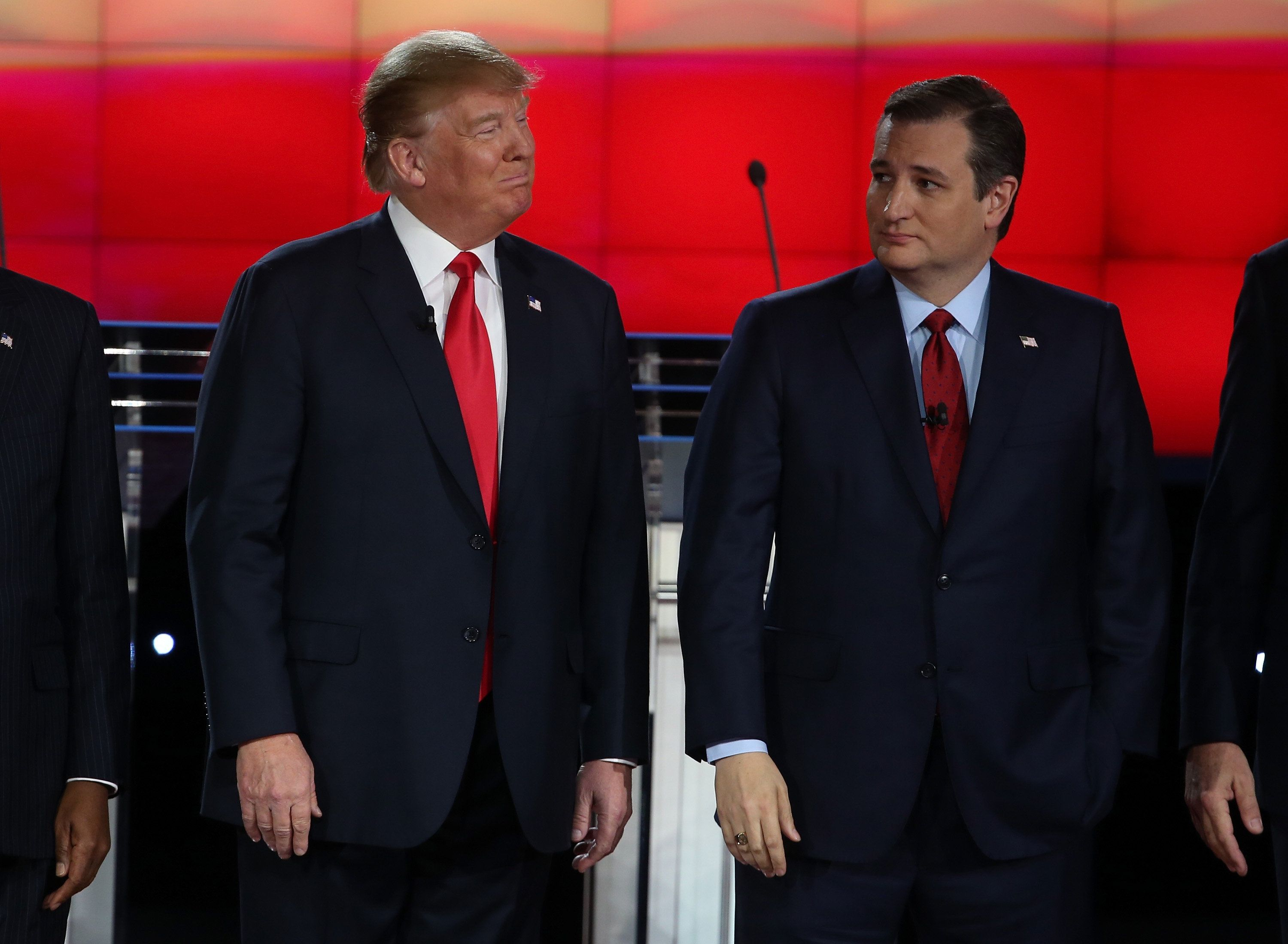 Though Donald Trump, left, has questioned whether Canadian-born Ted Cruz is eligible to be president, a majority ofAmer