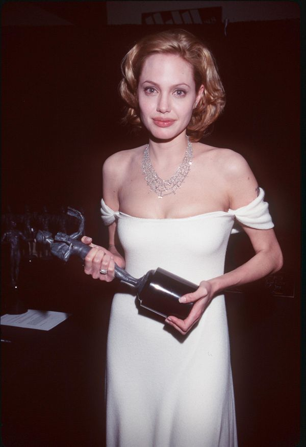 3/7/99 Los Angeles, CA. Angelina Jolie at the 5th Annual Screen Actors Guild Award.