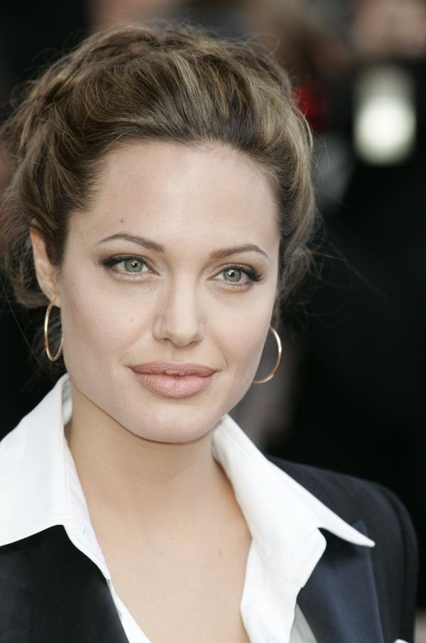 Angelina Jolie during 2004 Cannes Film Festival - 'Shrek 2' - Premiere at Palais Du Festival in Cannes, France. (Photo by Jea