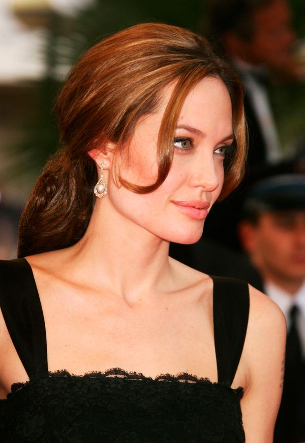 CANNES, FRANCE - MAY 21:  Actress Angelina Jolie attends the premiere for the film 'A Mighty Heart' at the Palais des Festiva