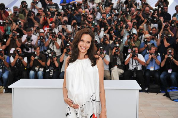 CANNES, FRANCE - MAY 15: Actress Angelina Jolie attends the photocall for 'Kung Fu Panda' during the Cannes International Fil