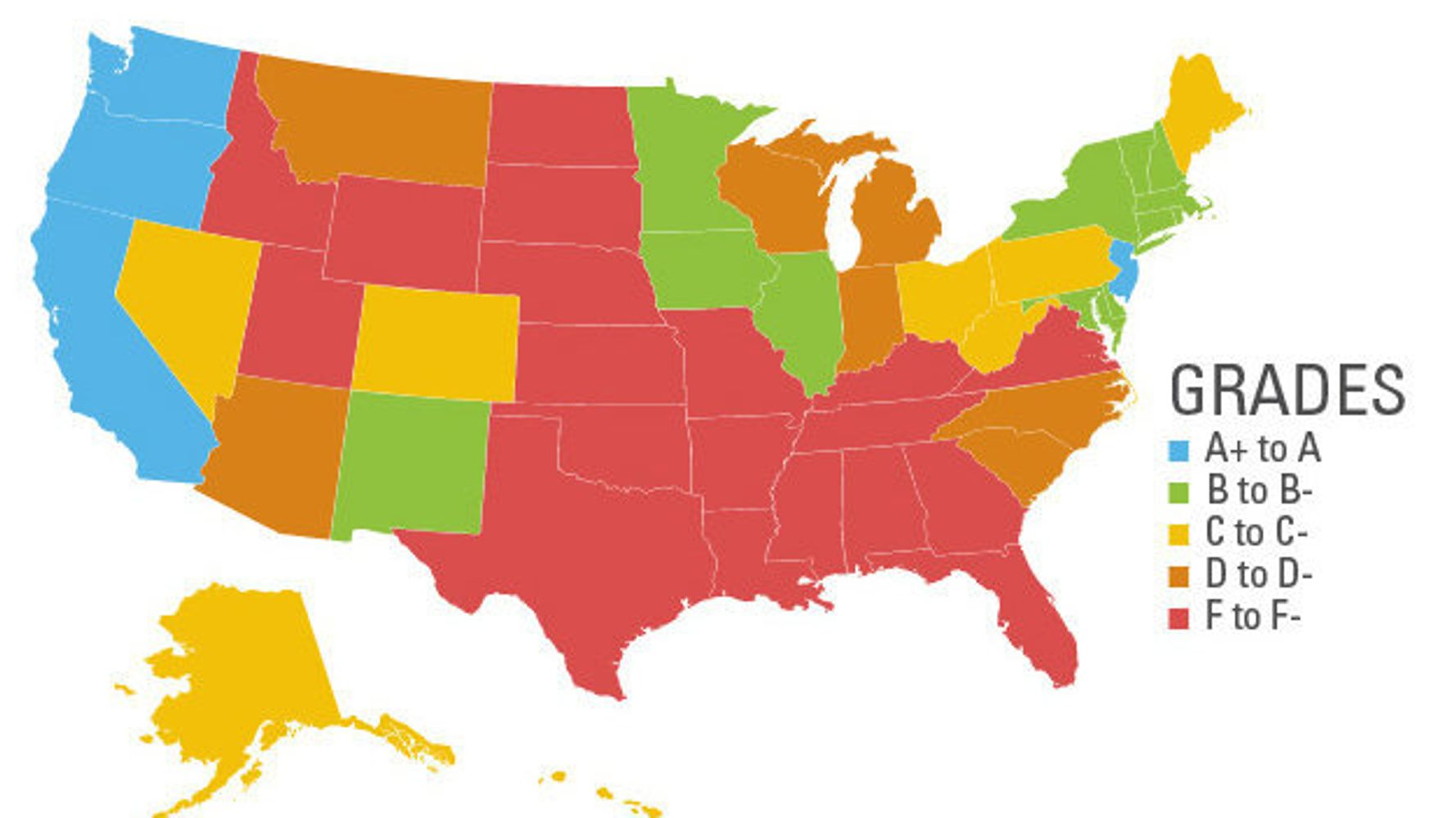 See How Our Country Is Failing Women In One Simple Map