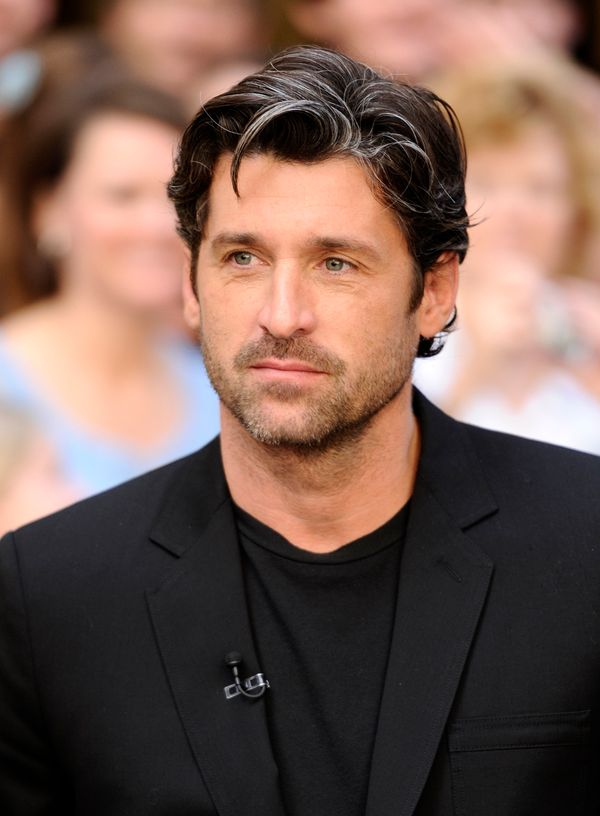 TODAY -- Pictured: Patrick Dempsey appears on NBC News' 'Today' show  (Photo by Peter Kramer/NBC/NBCU Photo Bank via Getty Im