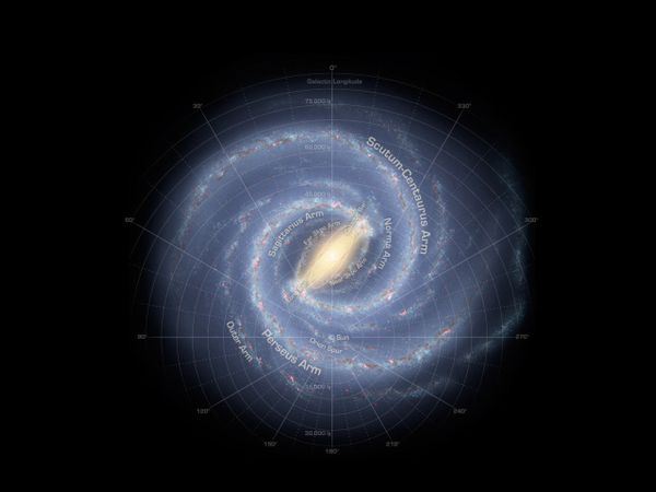 "The <a href=""http://www.nasa.gov/mission_pages/GLAST/science/milky_way_galaxy.html"" target=""_blank"">Milky Way</a> is a <a hre"