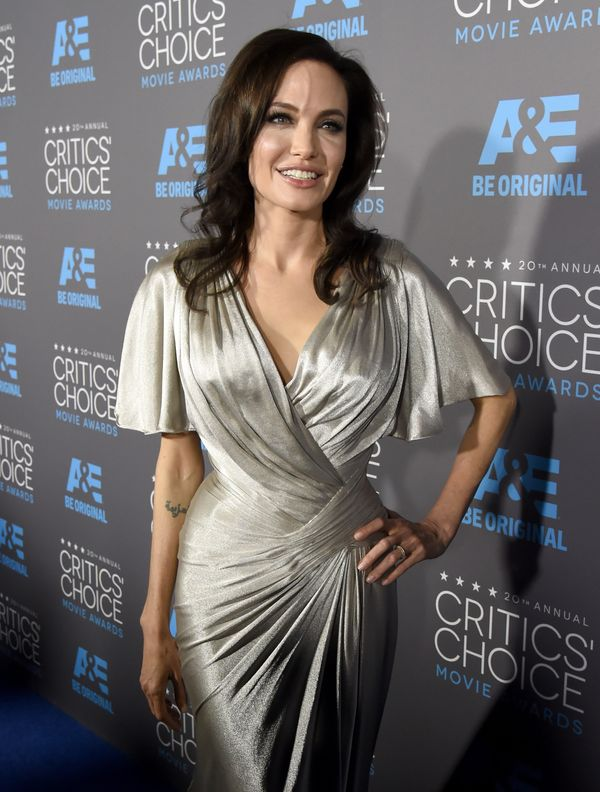 LOS ANGELES, CA - JANUARY 15:  Director/actress Angelina Jolie attends the 20th annual Critics' Choice Movie Awards at the Ho