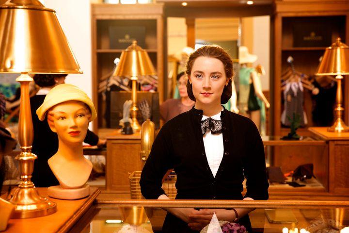 """Saoirse Ronan stars in a scene from """"Brooklyn."""""""
