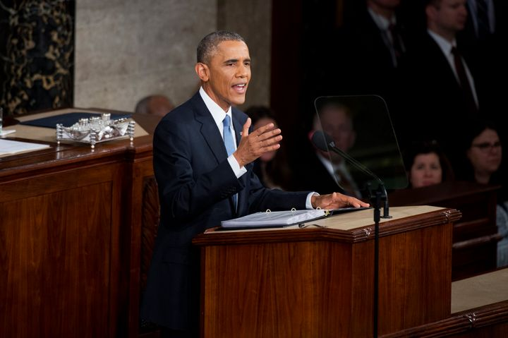 President Barack Obama could use his final State of the Union address to announce an executive order requiring disclosure of