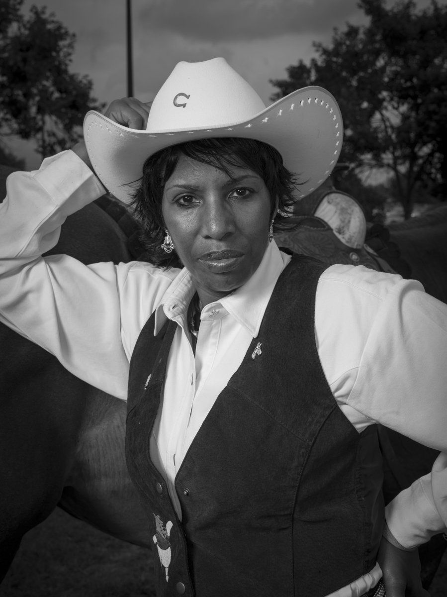 Sharon Darden is an avid trail rider and would be riding in the grand entry at the Bill Pickett Rodeo in Atlanta, Georgi