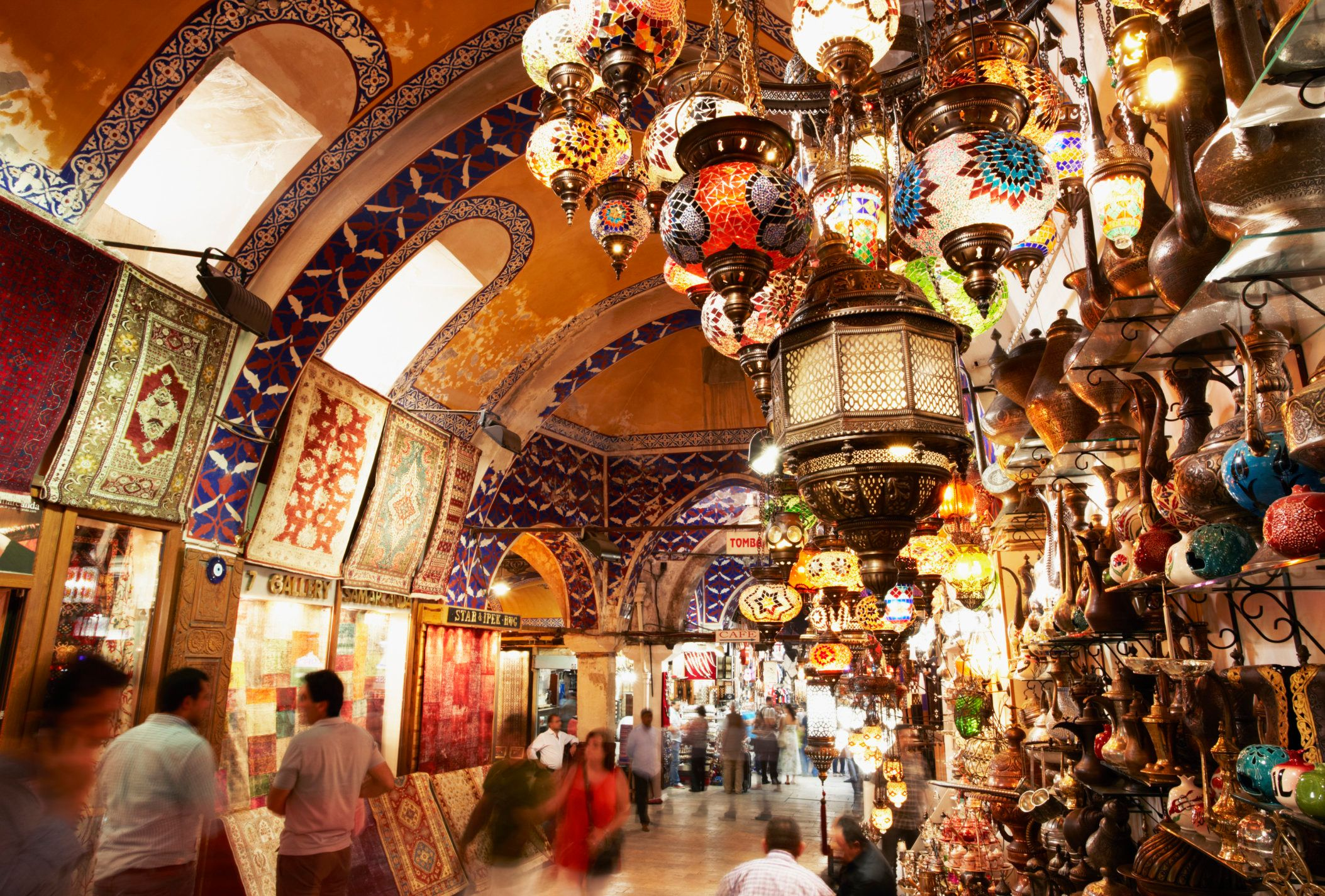 You can visit expansiveindoor malls, or you could spend all your time exploring the city's bustling bazaars. We'd pick
