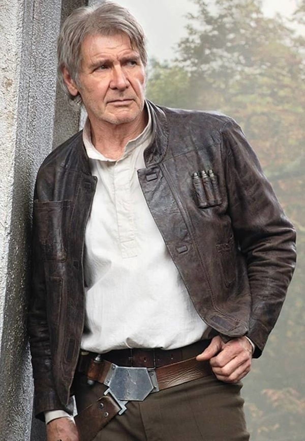 "Ever heard of the Millennium Falcon? Well, this is what the captain <a href=""https://www.fjackets.com/buy/Han-Solo-Star-Wars-"
