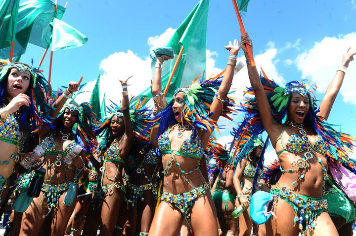 Total snoozefest: The Scotiabank Caribbean Carnival, known as th the Caribana Parade.